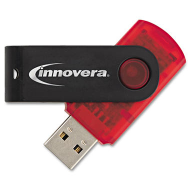 Innovera - Portable USB 2.0 Flash Drive - 2GB