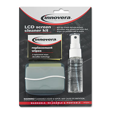 Innovera LCD Screen Cleaner - 1.1 oz. pump