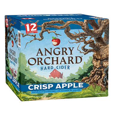 XOFFLINE+ANGRY ORCHARD APPLE 12 / 12 OZ BOTTLES