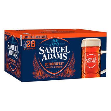 SAM ADAMS OCTOBER 28 / 12OZ BOTTLES