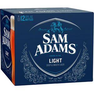 Sam Adams Light (12 fl. oz. bottle, 12 pk.)