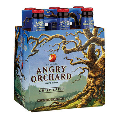 ANGRY ORCHARD APPLE 6 / 12 OZ BOTTLES