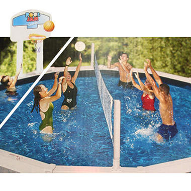 Pool Jam Basketball/Volleyball Combo