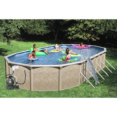 Galaxy View Pool Package - 30' x 15' x 52""