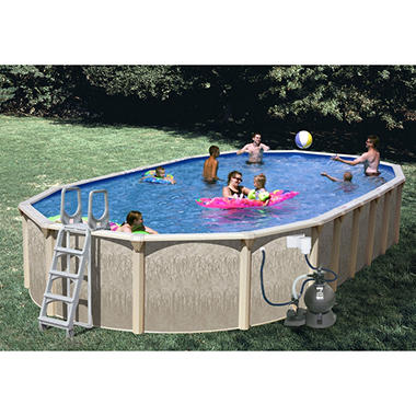 Galaxy View Space Saver Pool Package - 33'x18'x52""