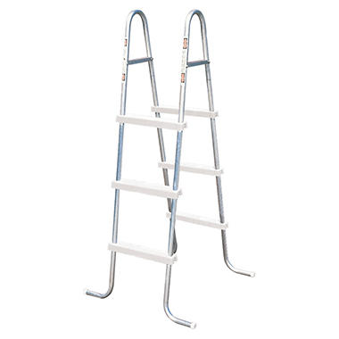 "42"" Steel Ladder with resin Steps"