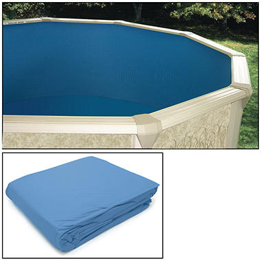 Round Vinyl Liner with Port Hole - Various Sizes.