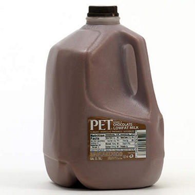 Chocolate Milk Gallon Jug