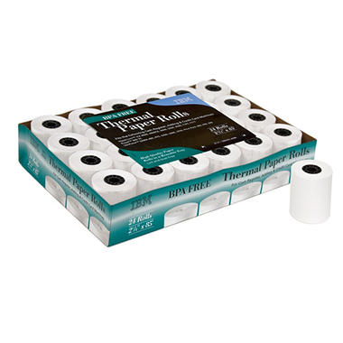 "IBM - 2 1/4"" Thermal Paper Rolls - 24 Rolls"