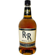 Rich and Rare Canadian Whisky - 1.75 L.
