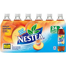 Nestea Iced Tea, Peach (16.9 oz. bottles, 24 pk.)