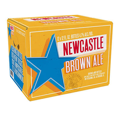 NEWCASTLE BROWN ALE 12 / 12 OZ BOTTLES
