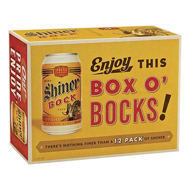 SHINER BOCK 12 / 12 OZ CANS