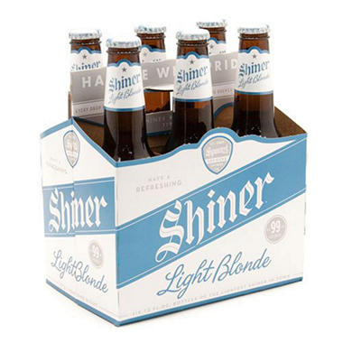 SHINER LIGHT BLONDE 6 / 12 OZ BOTTLES