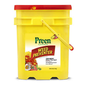 Preen® Weed Preventer - 25 lb. Pail