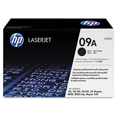 HP - HP 09A -  (C3909A) Black Original LaserJet Toner Cartridge