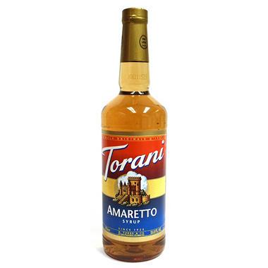Torani Amaretto Syrup - 1 Liter