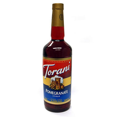 Torani Pomegranate Syrup - 3 pk. - 1 L