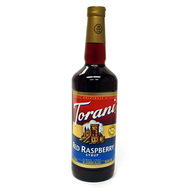 Torani Red Raspberry Syrup - 3 pk. - 1 L