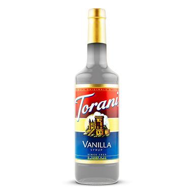 Torani Vanilla Syrup - 3 pk. - 1 L
