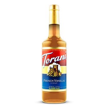 Torani French Vanilla Syrup - 3 pk. - 1 L