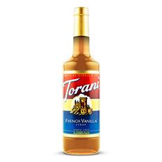 Torani French Vanilla Syrup (1 L bottle)
