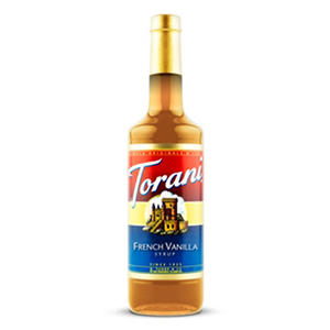 Torani French Vanilla Syrup (1 L bottle)