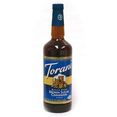 Sugar Free Brown Sugar & Cinnamon Flavored Syrup - 1 Liter