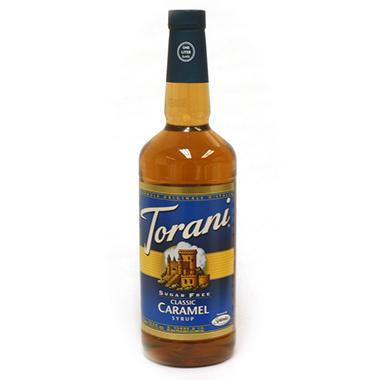 Torani Sugar Free Classic Caramel Syrup - 3 pk. - 1 L