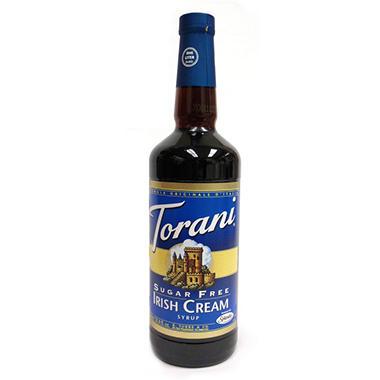 Torani Sugar Free Irish Cream Syrup - 1 Liter