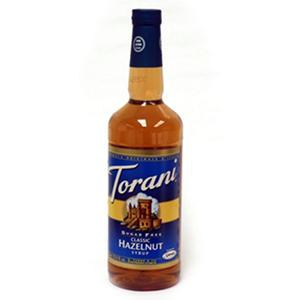 Torani Sugar Free Classic Hazelnut  - 1 L