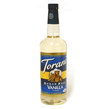 Sugar Free Vanilla Flavored Syrup - 1 Liter