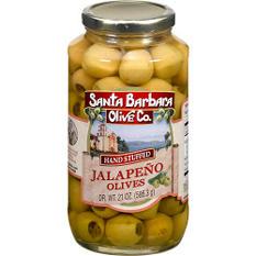 Santa Barbara Olive Co. Jalapeño Olives - 21oz
