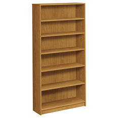 HON - 1870 Series Bookcase - 6 Shelves - Harvest