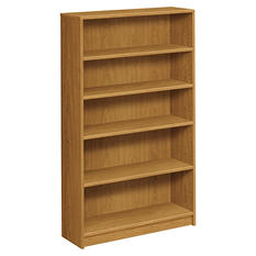 HON - 1870 Series Bookcase - 5 Shelves - Harvest