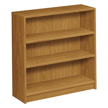 HON - 1870 Series Bookcase - 3 Shelves - Harvest