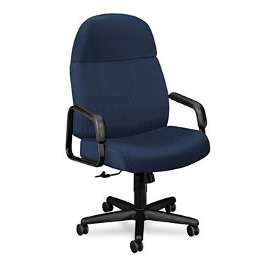HON 24-Hour Executive High-Back Swivel/Tilt Chair, Blue