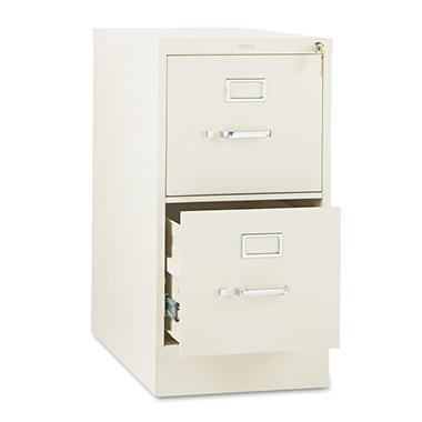 "HON - 310 Series Two-Drawer, Full-Suspension File, Letter, 26"" - Putty"