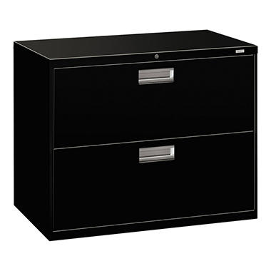 "HON - 600 Series Lateral File Cabinet, 2-Drawer, Letter/Legal, 36"" Width - Various Colors"