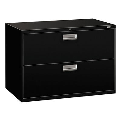 "HON - 600 Series Lateral File Cabinet, 2-Drawer, Letter/Legal, 42"" Width - Various Colors"
