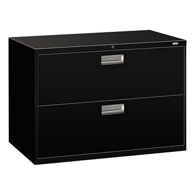 HON - 600 Series Lateral File Cabinet, 2-Drawer, Letter/Legal, 42