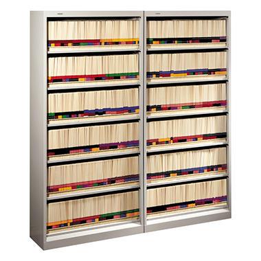 HON - 600 Series Open Shelving, 6-Shelf, Steel - Various Colors