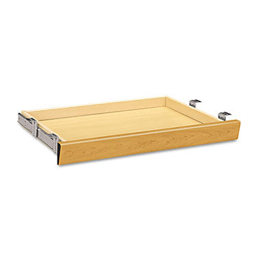 HON - Laminate Angled Center Drawer - Harvest