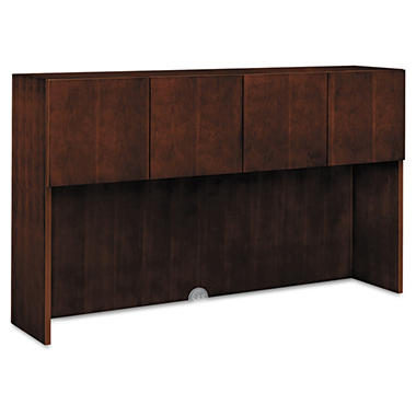 HON - Arrive Wood Veneer Stack-On Storage - Shaker Cherry