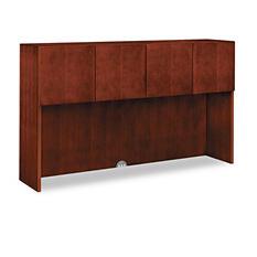 HON - Arrive Wood Veneer Stack-On Storage - Henna Cherry