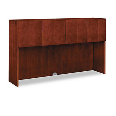 HON - Arrive Wood Veneer Stack-On Storage - Henna Cherry