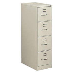 "HON 25"" 510 Series 4-Drawer Vertical File Cabinet"