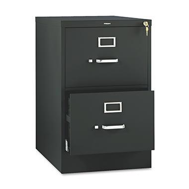 HON - 510 Series Vertical File Cabinet, 2-Drawer, Full-Suspension, Legal, 25