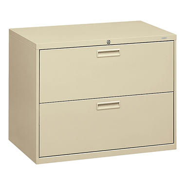 HON - 500 Series Lateral File Cabinet, 2-Drawer, Letter/Legal, 36