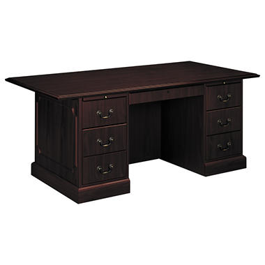HON - 94000 Series Double Pedestal Mahogany Conference Desk
